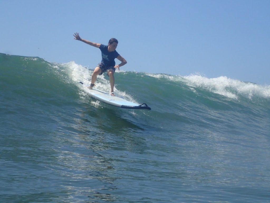 Katie surf