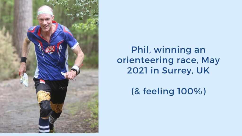 Phil orienteer race